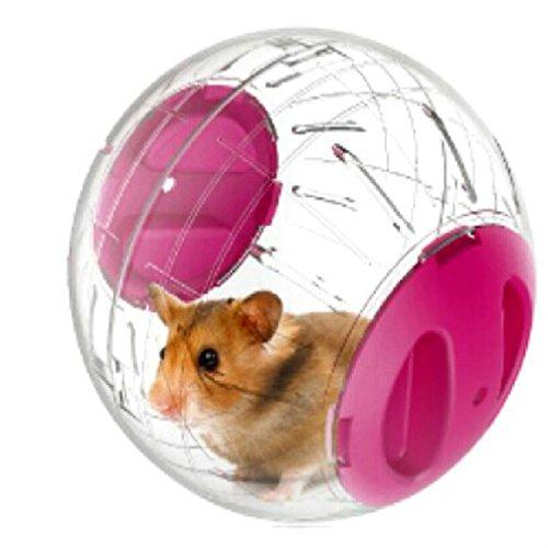 Emours Hamsterrad, klein, 12,2cm,Renn- und Gymnastikball für Hamster und sonstige Tiere