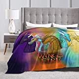 YAOAO Wings of Fire Blanket Warm Plush Cozy Soft Blankets for Chair/Bed/Couch/Sofa