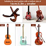 CAHAYA Guitar Stand Wooden Acoustic Guitar Stand Musical Detachable Instrument with X Shaped Pieces for Elctric Classical Guitar