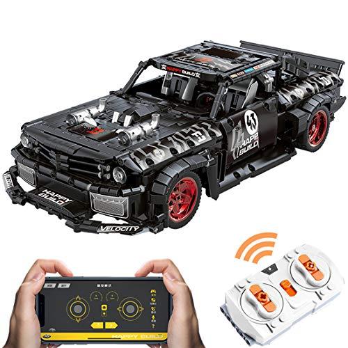 WWEI 1:12 - Juego de construcción de piezas para Ford Mustang Sportwagen,...