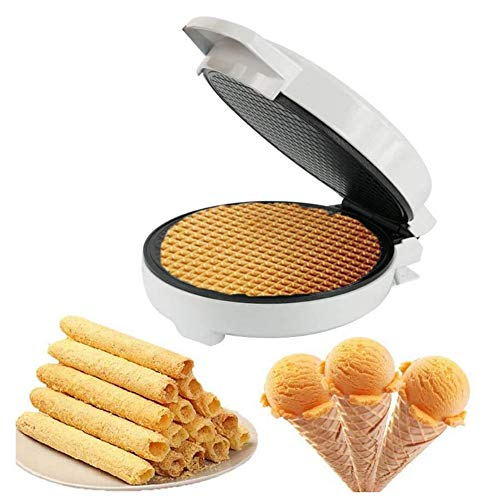 Best Buy! Electric bakeware, Sandwich Crispy Egg roll Machine, Waffle Cone Machine, Healthy Material...