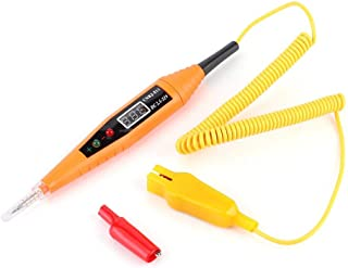 Suuonee Car Circuit Tester,Auto Circuit Tester Multimeter Lamp Car Repair Automotive Electrical Diagnostic Tool Red