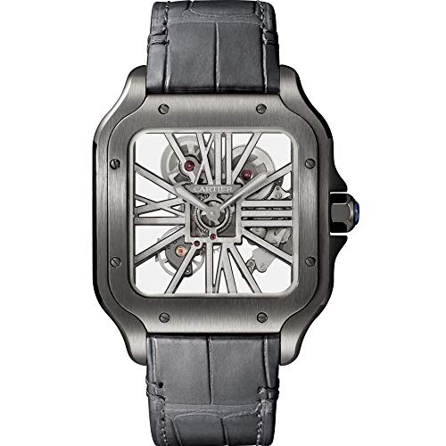 Cartier Santos de Cartier Mechanical-Hand-Wind Male Watch WHSA0009