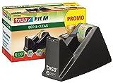 tesa Easy Cut® Tischabroller Economy ecoLogo®, inkl. 1 Rolle tesafilm® / Spar-Set (Abroller + 10...