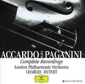 Accardo Plays Paganini- Complete Recordings
