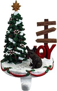 DogLoverStore French Bulldog Stocking Holder Hanger Brindle