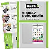 dipos I 2X Schutzfolie matt kompatibel mit Telekom Tablet Puls Folie Bildschirmschutzfolie