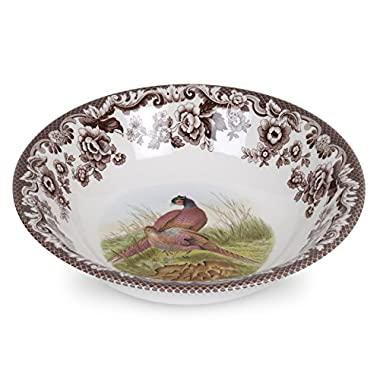 Spode 1566415 Ascot Cereal Bowl, Multicolor