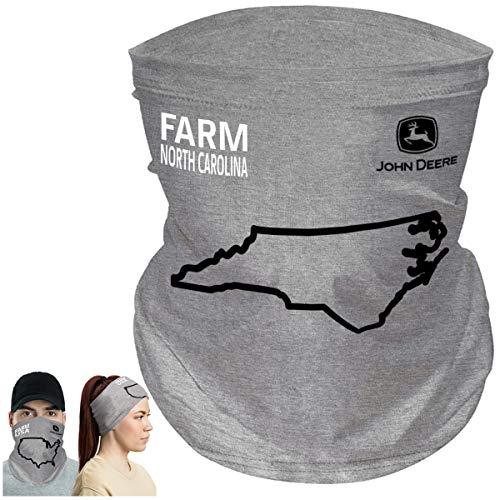 John Deere Farm State Pride Máscara facial para pescoço e orgulho do Estado, Carolina do Norte