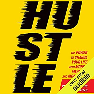 Hustle audiobook cover art