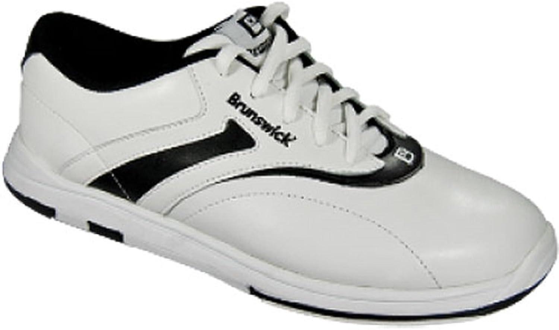 Brunswick Women's Silk Bowling shoes, White Black