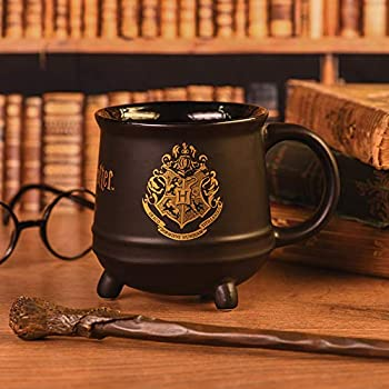 Wizarding World Harry Potter Hogwarts Crest, Tasse, 320ml, schwarz