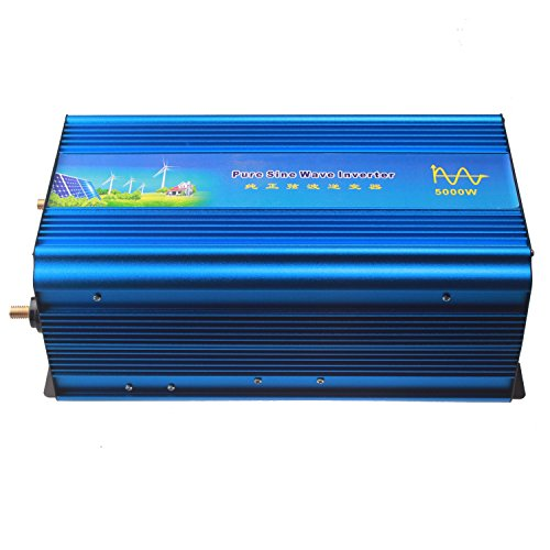 Holdwell DC 12V to AC 110V AC100-120V Power Pure Sine Wave Inverter 5000W