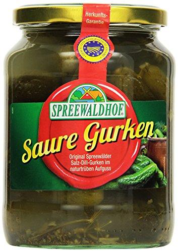 Spreewaldhof Saure Gurken, 6er Pack (6 x 720 ml)