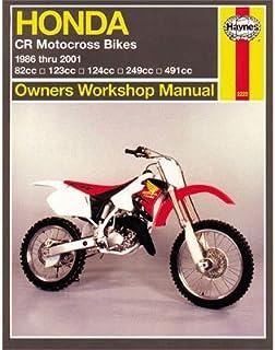 Haynes Repair Manual for Honda CR500R 1986-2001