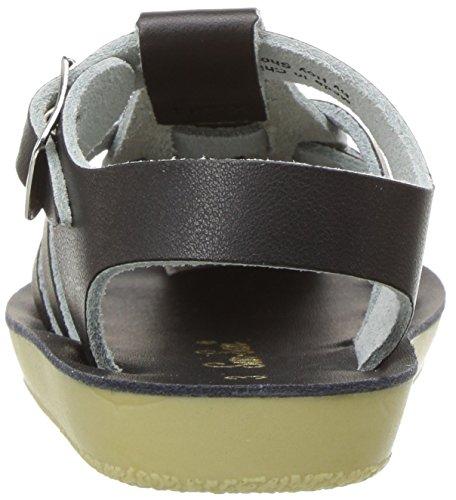 Salt Water Sandals by Hoy Shoes Unisex Sun-San - Sailors (Infant/Toddler) black Size: 3 Little Kid