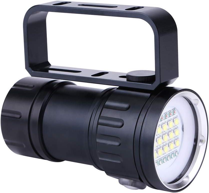 Canyita Underwater Regular store Online limited product Flashlight Professional Waterproof Photograp