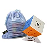 Elloapic MoYu WeiLong GTS 3 M 3M GTS3M Magic Cube 3x3x3 Puzzle Speed Stickerless + One Cube Bag and one Stand