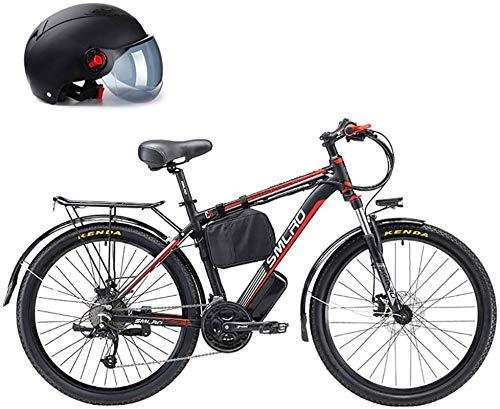 Alta velocidad 26' 500W plegable / Carbono Material Acero Ciudad de bicicleta eléctrica asistida eléctrica deporte de la bicicleta de montaña de la bicicleta con la batería de litio extraíble 48V