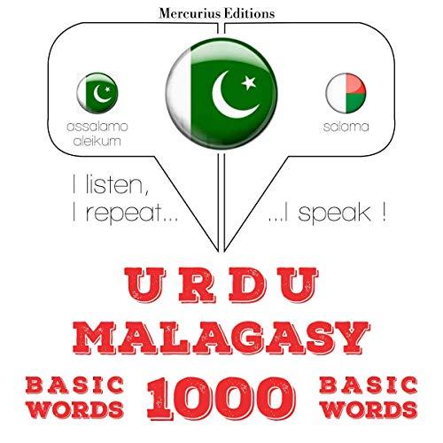 Urdu – Malagasy. 1000 basic words cover art