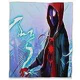 ARYAGO Miles Morales Plaid en peluche 180 x 230 cm avec verset Spiderman Spider