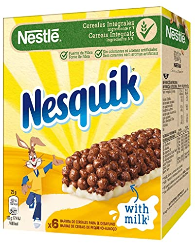 Barritas Nestlé Nesquik - 6 barritas