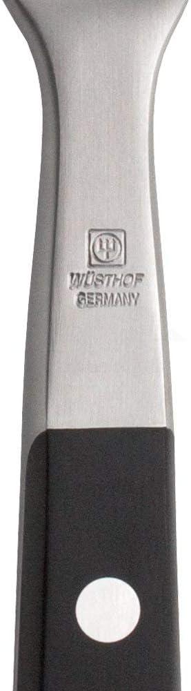 Wusthof 16 cm Curved Meat Fork Black
