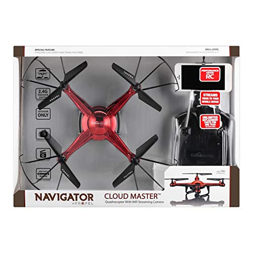 Propel Navigator Cloud Master Drone - Red
