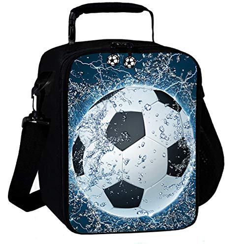 3D Football Insulated Reusable Lunch Bags Boys Lunch Box for Girls Lunch Tote Cooler Bags Lunch Snack Bag for Kid Thermal Bags 02