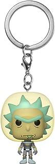 فانكو بوب! سلسلة مفاتيح: ريك اند مورتي - ريك مع بدلة الفضاء، متعدد الالوان