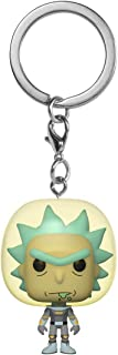 Funko Pop! Keychain: Rick and Morty - Rick with Space Suit