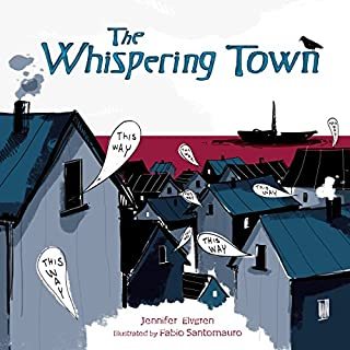 The Whispering Town audiobook cover art