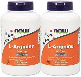 【2個セット】 [海外直送品] NOW FoodsLアルギニン 500mg(海外直送品) L-Arginine 500mg