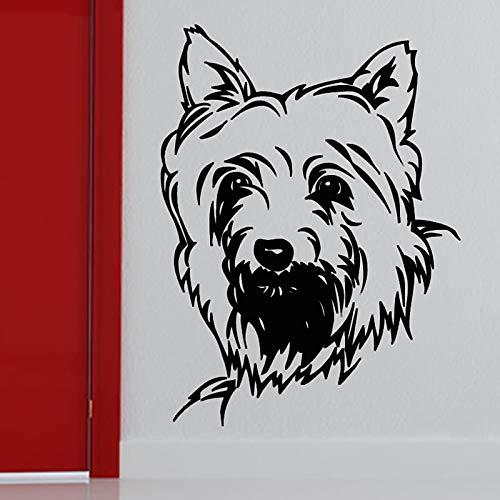 Hetingyue muursticker, zelfklevend, voor huisdieren, wanddecoratie
