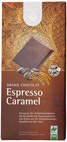 GEPA Bio-Schoko Fairt., Espresso Caramel, 10er Pack (10 x 100 g)