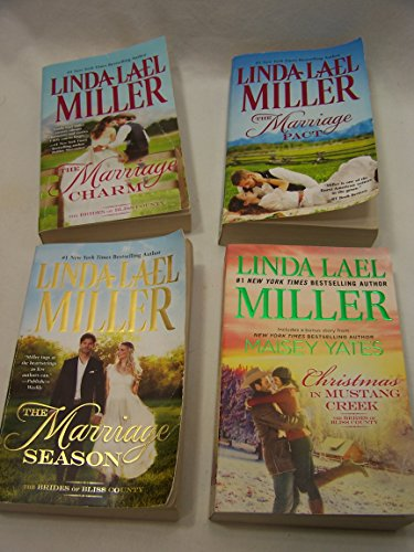 Brides of Bliss County Series complete set: Marriage Pact, Marriage Charm, Marriage Season, Christmas in Mustang Creek