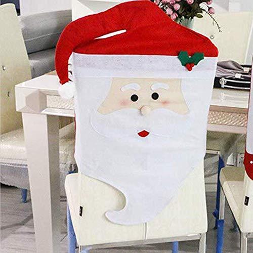Uten Cubierta de la Silla de Comedor Navidad, Restaurante, decoración navideña, Funda de Silla