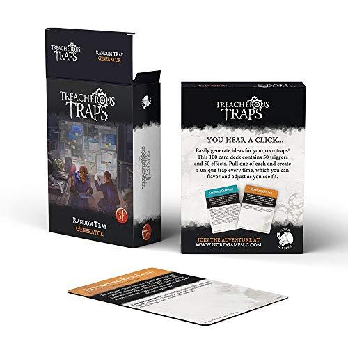 Treacherous Traps – Random Trap Generator Deck (5E)