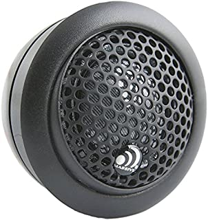 Massive Audio CT1 - Silk Dome 110 Watt 25mm Car Audio Tweeter Set with Crossovers, Surface, Angle or Flush Mount Options