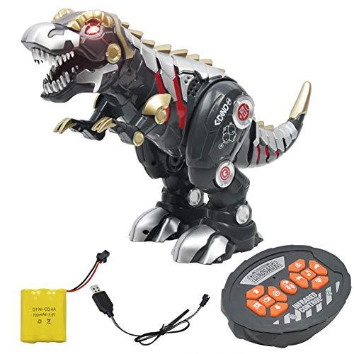 personukXD Juguete Inteligente de Dinosaurio, Control Remoto Inteligente, Dinosaurio Modelo Juguete mecánico Dinosaurio Recargable, Modelo de muñeca electrónica para Mascotas