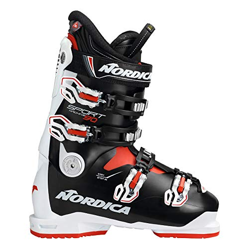 Nordica Bota esqui sportmachine 90 white/black/red...