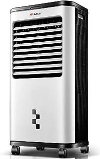 Enfriador de aire Interior Ventilador de enfriamiento industrial portátil 14l Tanque de agua de gran capacidad, velocidad del viento ajustable y función de oscilación, aire acondicionado pequeño