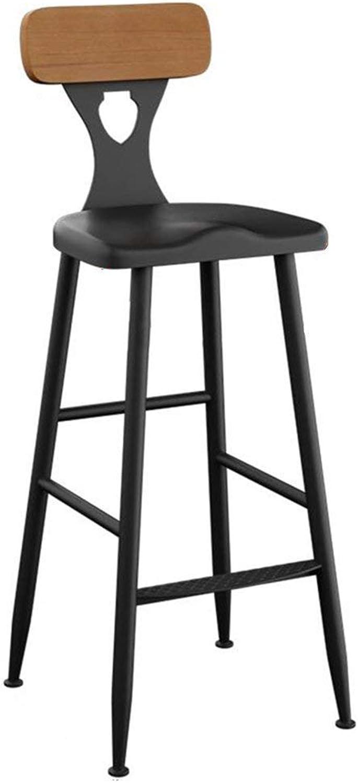 QianLiJiaJi Barstools-Pub Coffee Bar Stools ,Black Max Load 120 kg Modern bar Chair (Size   40x40x105cm)