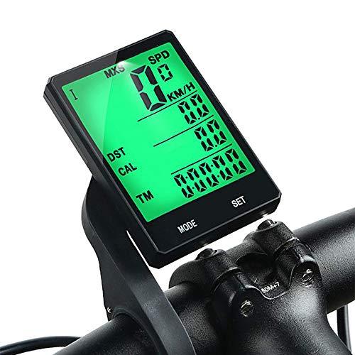 YUNDING cronómetro Ciclismo 2.8 Pulgadas Bicicleta Inalámbrica Ordenador A Prueba De Lluvia...