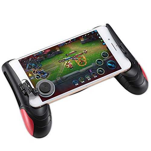 ZARLLE Mobile Game Joystick Player Unknown'S Battlegrounds Eat Chicken Artifact, Controlador De Juego Pubg Joystick MóVil Gamepad Mango De DiseñO ErgonóMico Pubg
