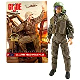 Year 1997 GI Joe Classic Collection 12 Inch Tall Soldier Figure - G.I. Jane US Army Female Helicopter Pilot (Red Hair) with Radio, Vest, Pistol, Jump Suit, Flight Helmet and Dog Tags