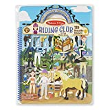 Melissa & Doug Puffy Sticker Play Set, Riding Club (Reusable Activity Book,139 Stickers, Great for Travel, Great Gift for Girls and Boys – Best for 4, 5, 6, 7 and 8 Year Olds)