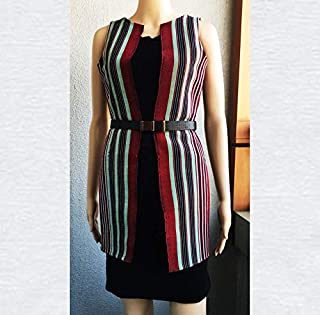 Emoltem Women's Sleeveless Kimono - UK size 10- Medium