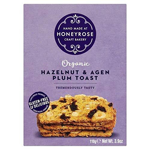HONEYROSE | Hazelnut & Agen Plum Toast | 3 x 110g (DE)