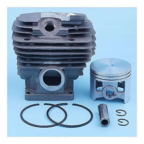 Kit de anillo de pistón de cilindro de 52 mm para For STIHL MS461 MS 461 Motosierra 1128 020 1250 For Nikasil Reemplazo recubierto Repuestos 12mm Pin (Color : China)